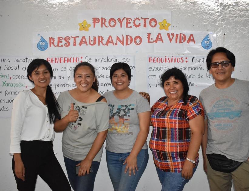 Fundaciones colombia yanapaqui planes Inversión pública