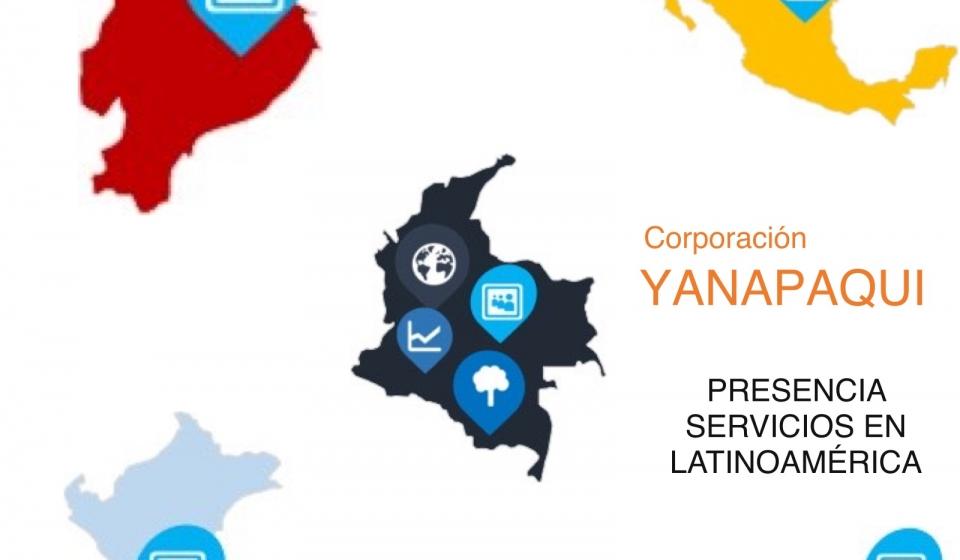 Corporación Yanapaqui trabajos latinoamérica colombia ecuador perú pánama méxico